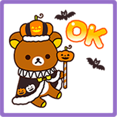 Rilakkuma's Autumn Stickers