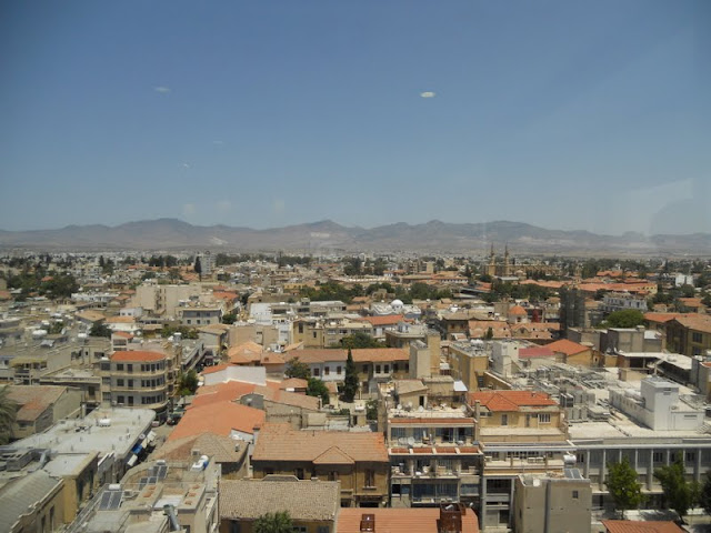 Cyprus in one week: the view from Shacolas Tower on Ledras Street