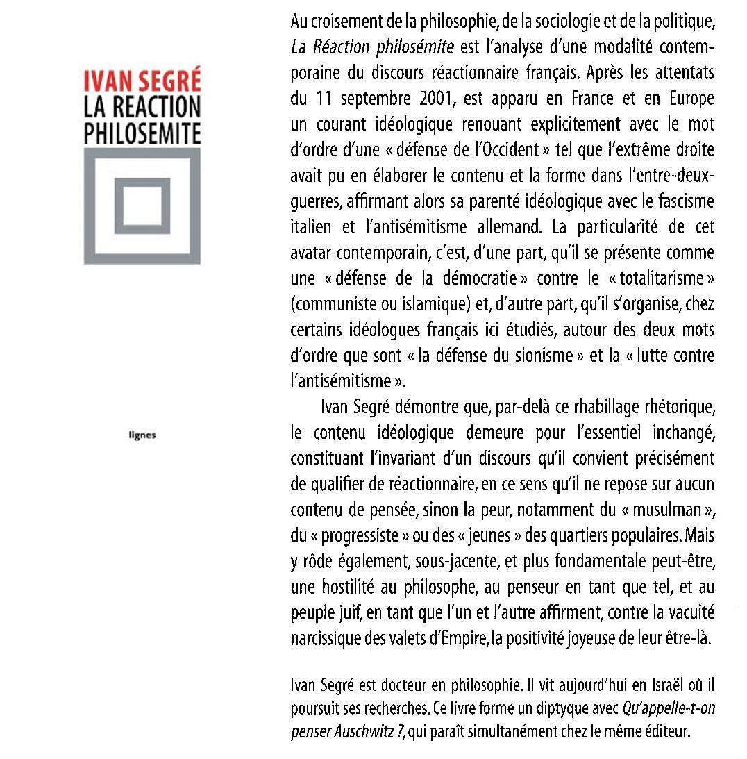 L Observateur Du Peril Innommable Rapport Censure Et