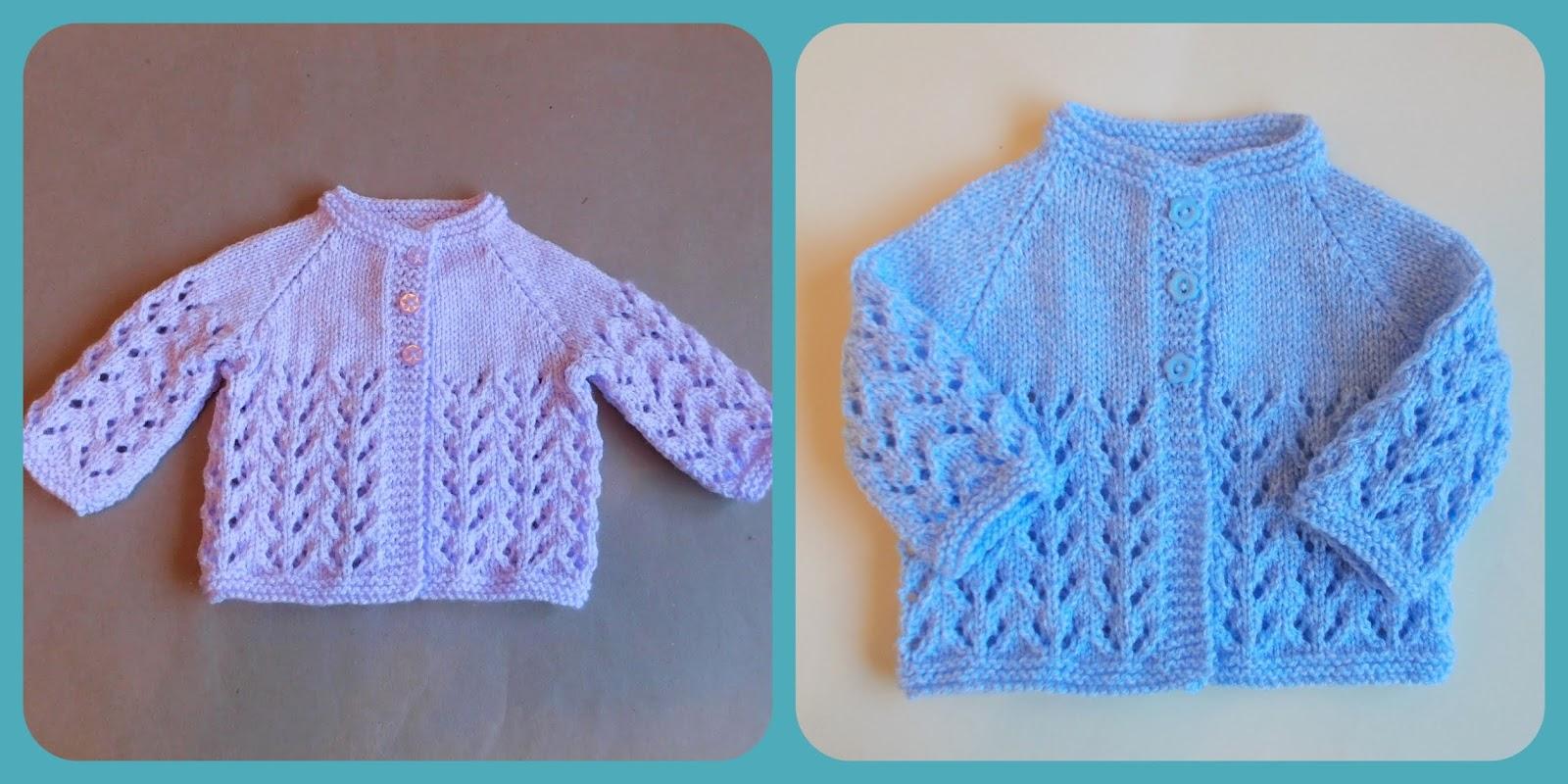 57aa5aa73 Marianna s Lazy Daisy Days  Knitted Baby Jackets ~ Top 20