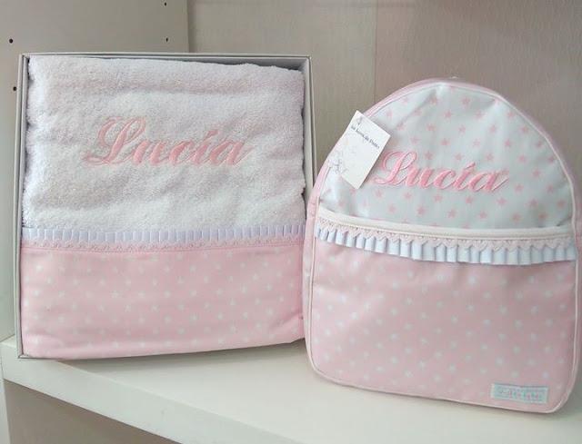 mochila personalizada con nombre regalo navidad