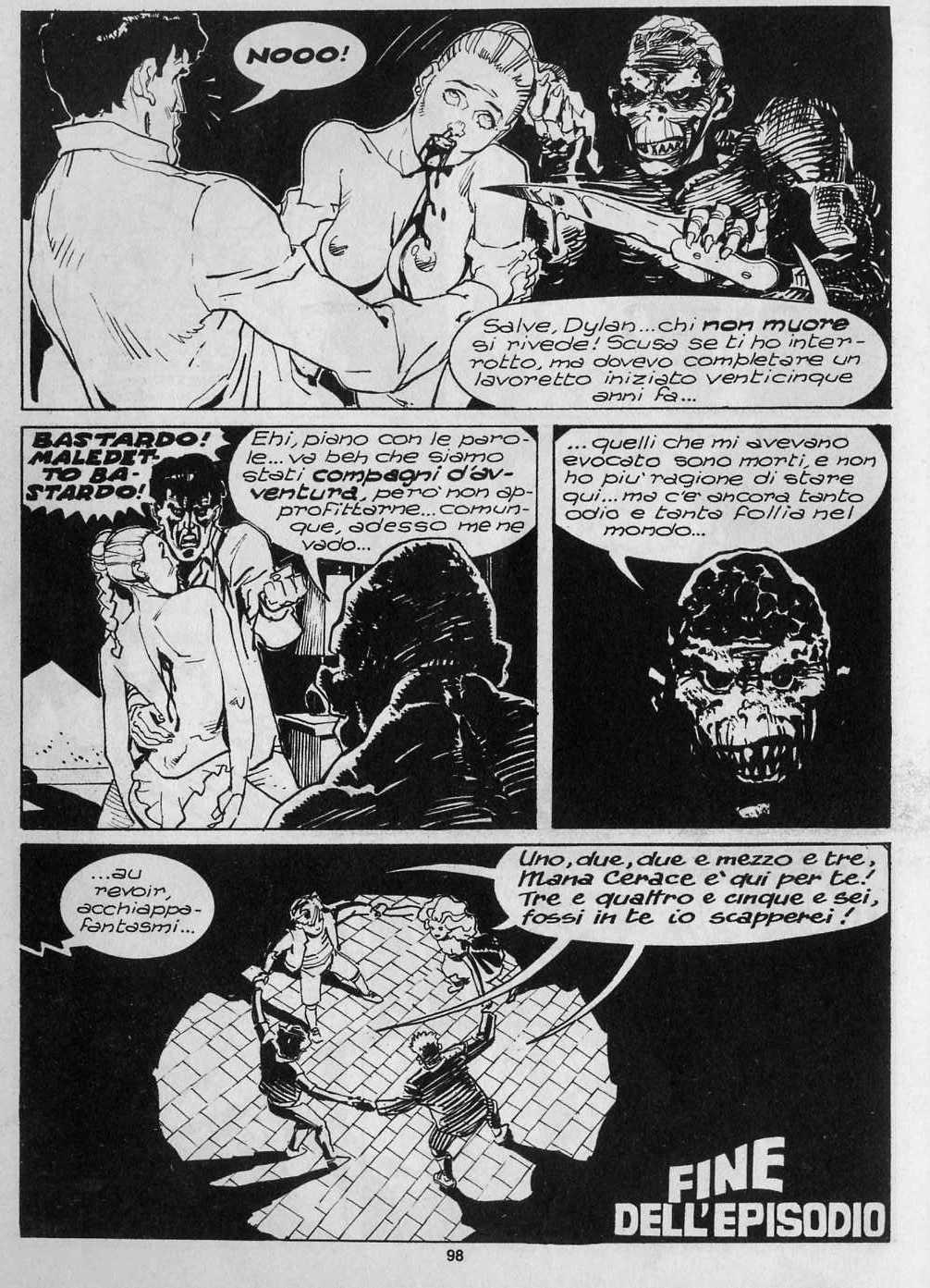 Dylan Dog (1986) 68 Page 95