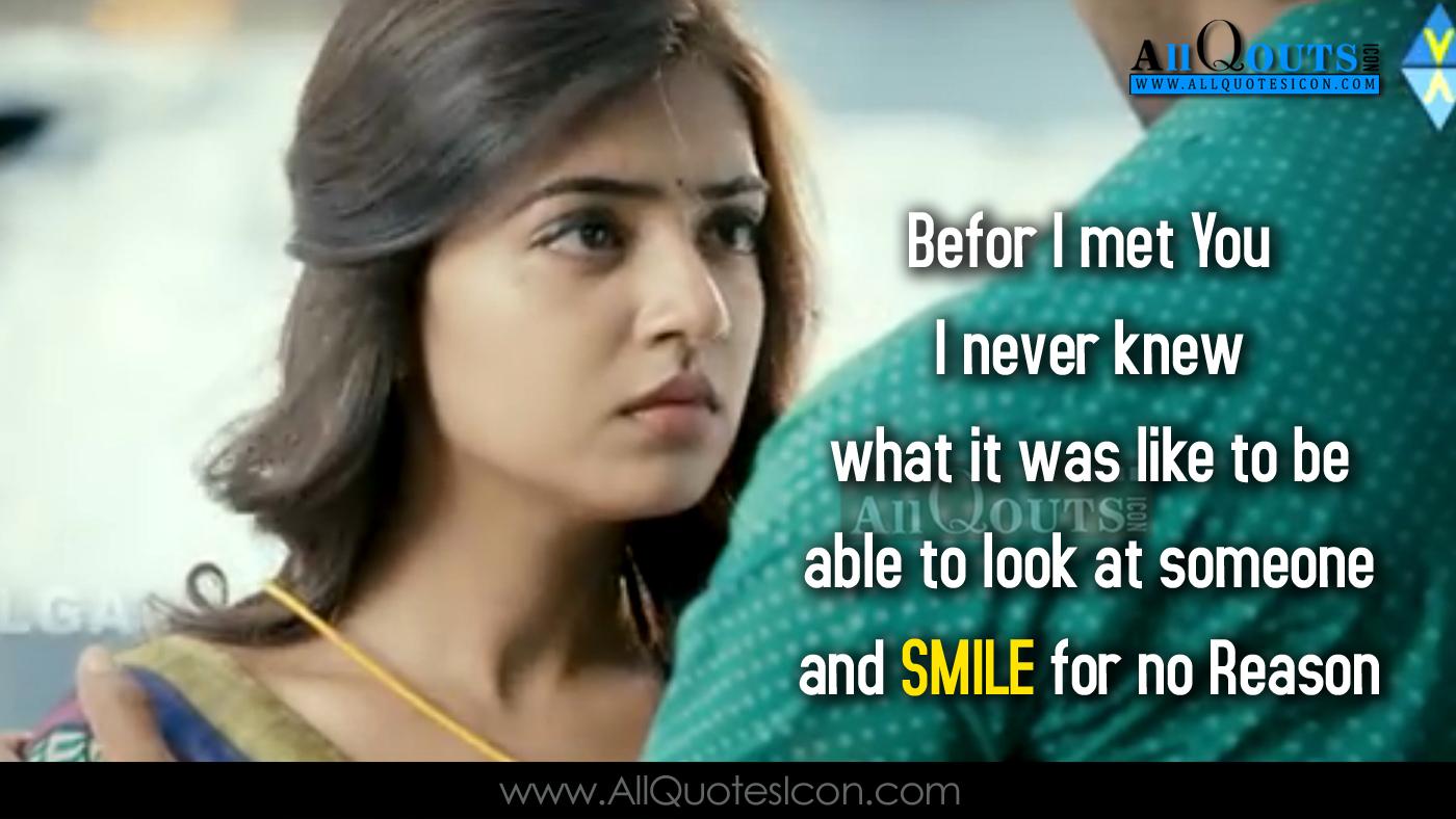 Raja Rani Movie Dialogues Best Love Scene Instagram English Quotes