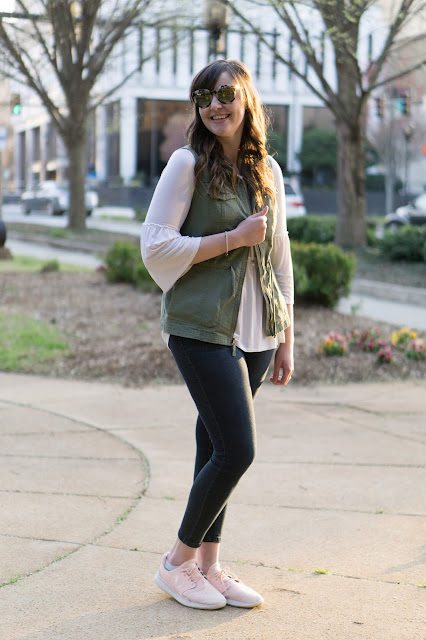 everyday emily blog pink sneakers greenville fashion lifestyle beauty blogger