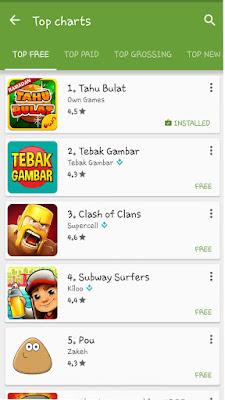 Ranking | 3 Game Lokal yang Populer di Kalangan Pengguna Android