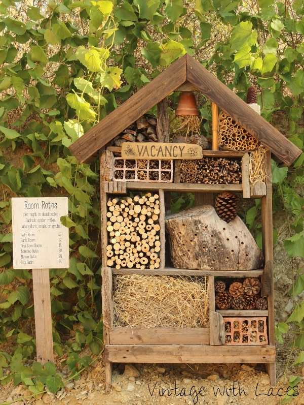 Reclaimed Wood Insect Hotel