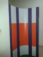 Sekat Kantor Bahan Panel Wood