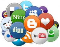 Как вставить кнопки социальных сетей в пост блога
