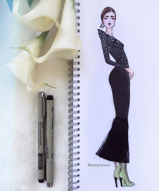"""بالصور.. """"ريم عبد الرحمن"""" فنانة ترسم بالماكياج والطعام والعود والورود"""