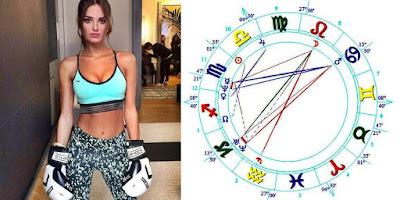 Wiki Gabrielle Caunesil birth chart personality traits