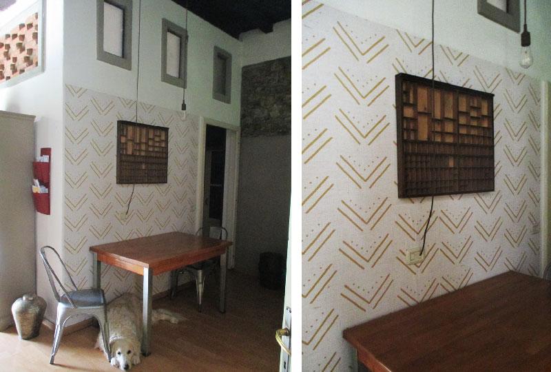Rinnovare le pareti della cucina: punta sulla carta da parati ...