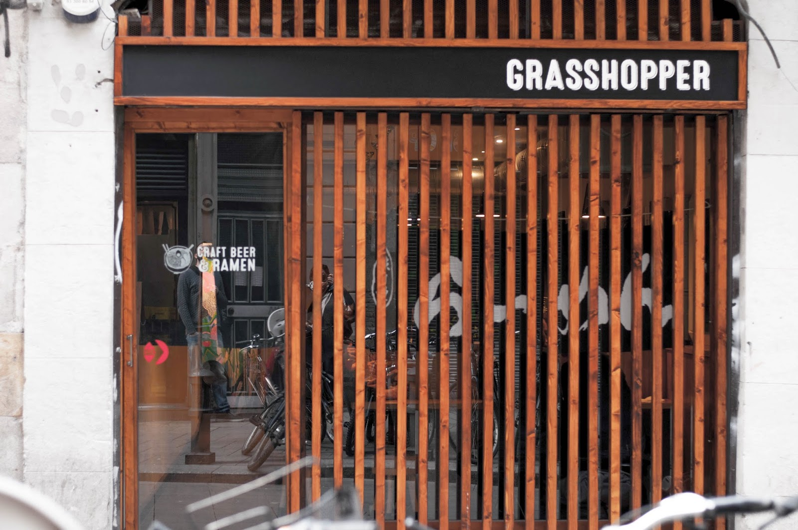 Grashopper Ramen Bar Barcelona