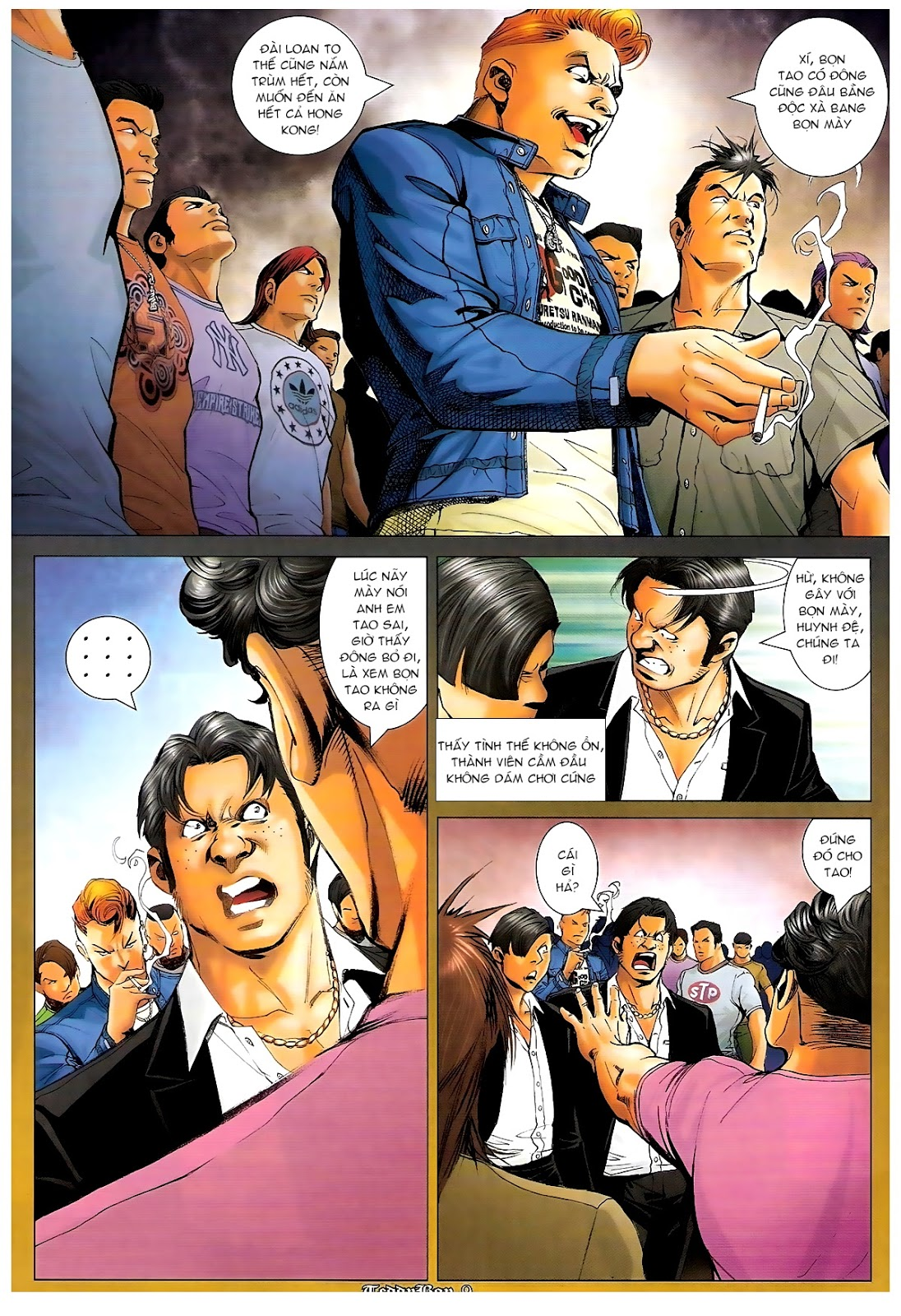 Người Trong Giang Hồ - Chapter 1189: Bố già - Pic 7