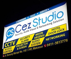 Lowongan Kerja Makassar Sales dan Helper di Cez Studio