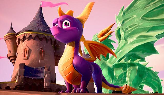شاهد كيف تسوق أكتيفيجن للعبة Spyro Reignited Trilogy في أمريكا ، فكرة ذكية جدا ..