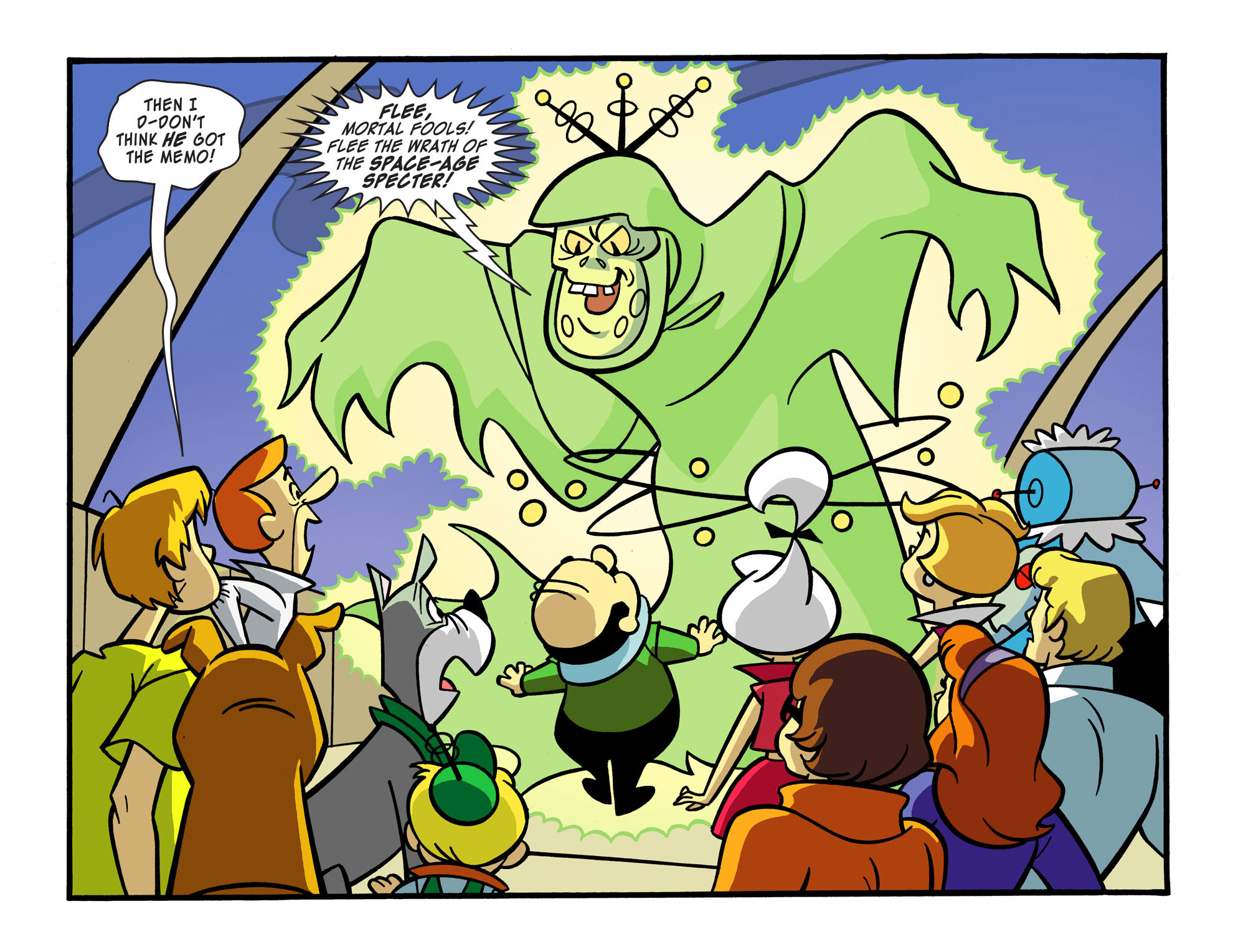 Read online Scooby-Doo! Team-Up comic -  Issue #15 - 17