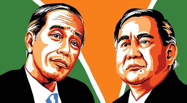 Elektabilitas Jokowi-Maruf Turun, Beda Dengan Prabowo-Sandi