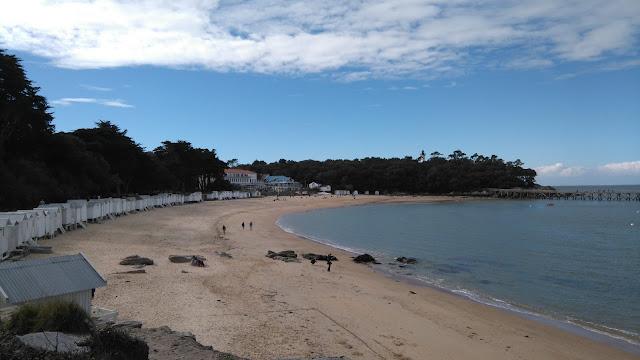 noirmoutier, plage, cabane, vendée, bullelodie