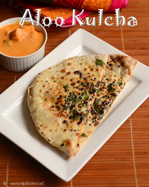 Aloo kulcha recipe indian flatbread raks kitchen aloo kulcha recipe forumfinder Choice Image