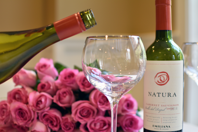 natura wines organic wine green wine vegan wine pottery barn bar cart lenox wine glasses pink roses sauvignon blanc cabernet wine