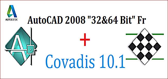 autocad 2004 + covadis 2004 + crack