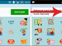 Download BBM Free Sticker Terbaru 2016