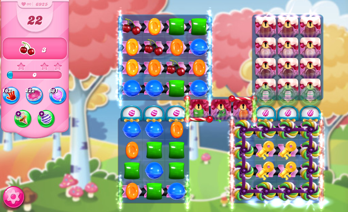 Candy Crush Saga level 6925