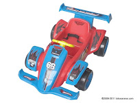 Mobil Mainan Aki WIMCYCLE Hot Wheels Formula Red