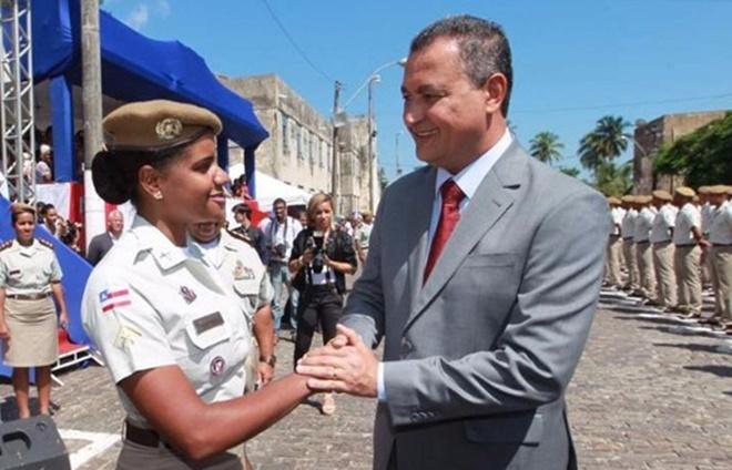 Governador da Bahia anuncia pagamento da GAP IV e V para 3,6 mil PMs e 226 bombeiros