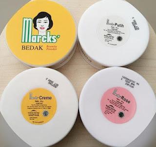 Warna Bedak Marcks Yang Cocok Untuk Kulit Sawo Matang, Putih Dan Kuning Langsat