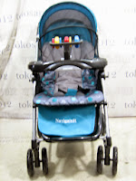 Kereta Bayi BabyDoes CH358LM Navigator dengan Parent Tray
