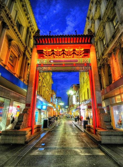 Melbourne Chinatown, Victoria, Australia