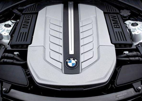 2017 BMW 5 SERIES SEDAN Engine