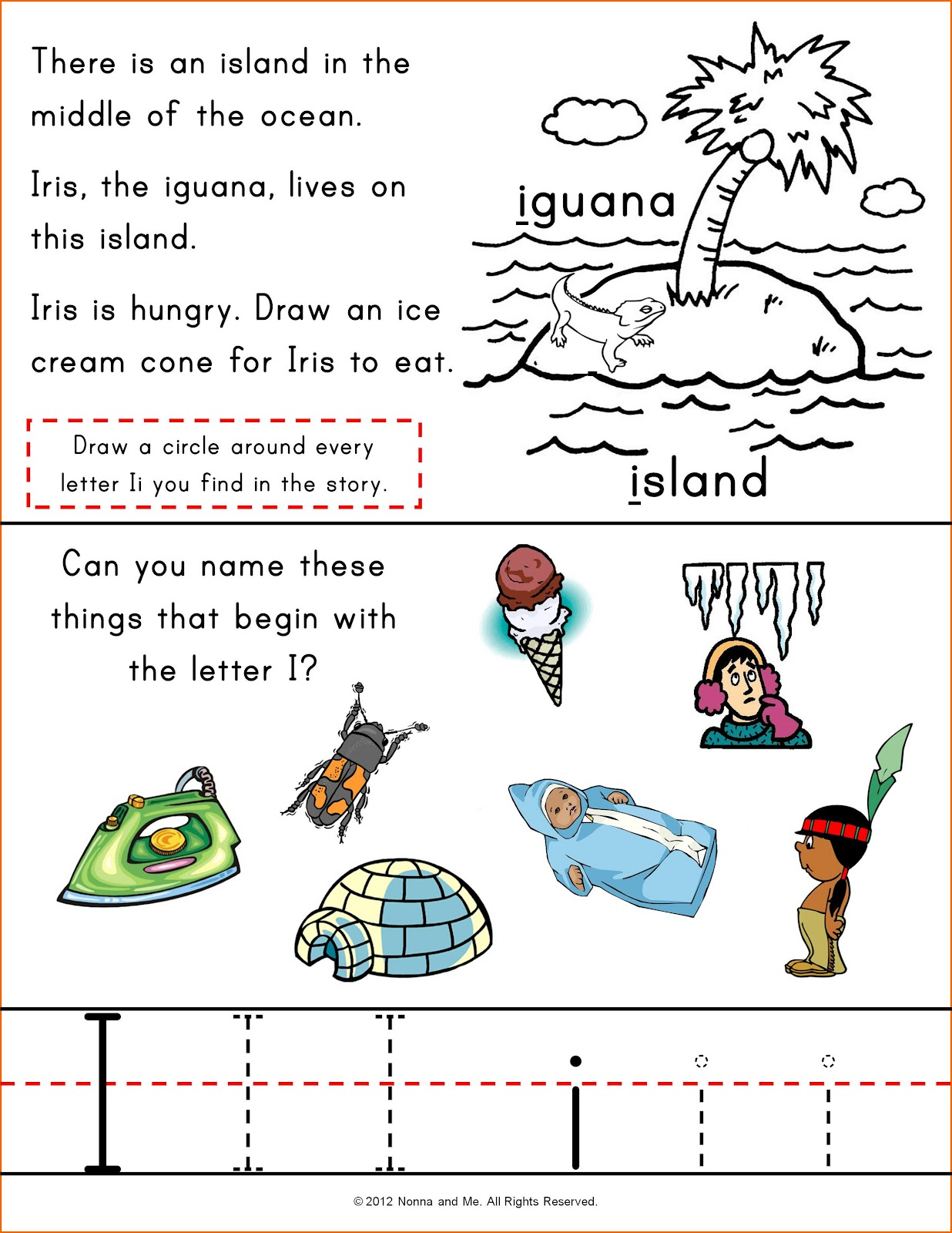 Nonna And Me Iris The Iguana And Jane Jon And Judy