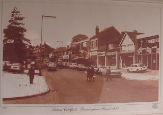 P J Evans of Sutton Coldfield on Birmingham Road c1965