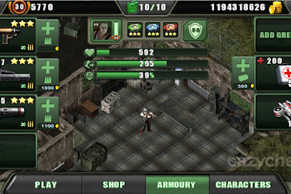 Free Shoping!! Zombie Shooter Mod Apk v3.1.0 Uang tanpa batas