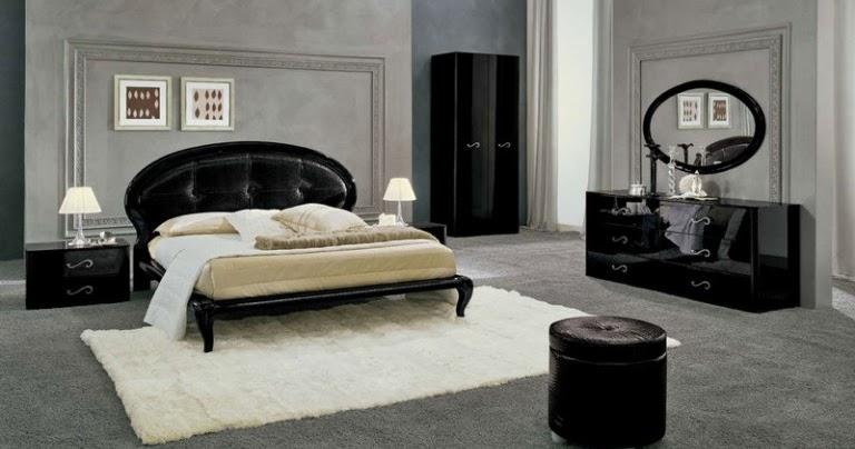 couleur peinture chambre meuble noir