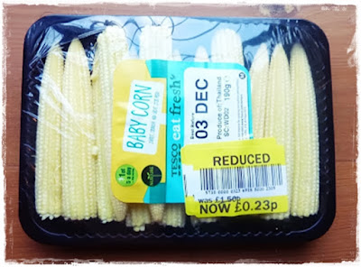 bargain baby sweetcorns
