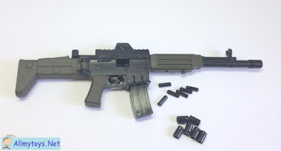 Assembling miniature toy gun 1