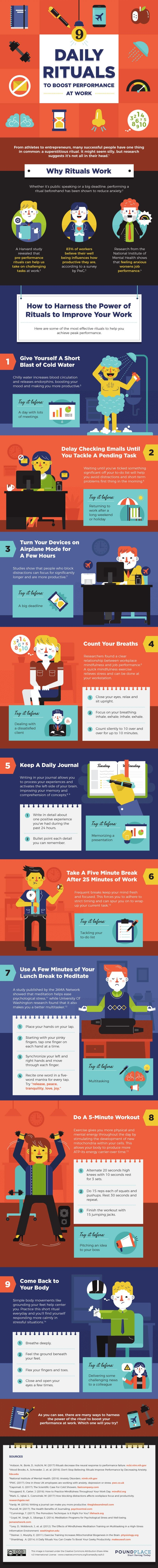 9 Daily Rituals To Boost Performance At Work