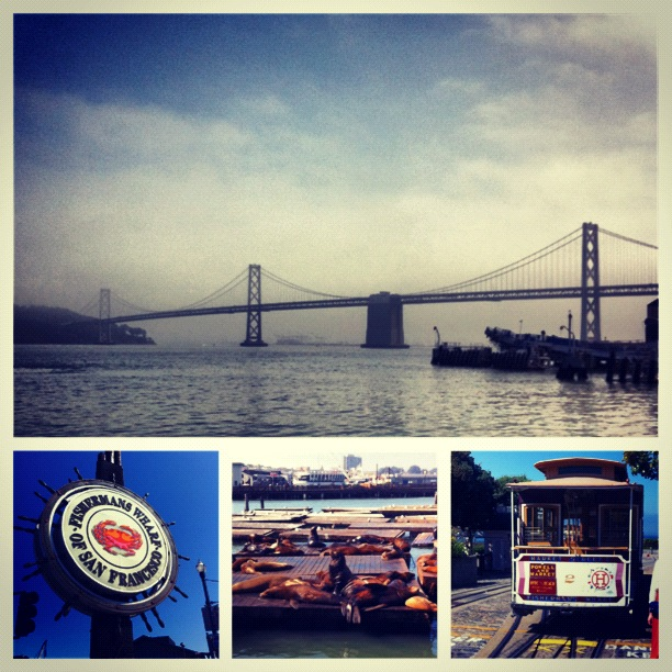 San Francisco Fisherman's Warf, streetcars and more.