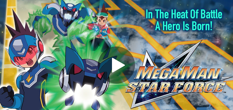 Rockman Corner: Mega Man Star Force Now Streaming on Hulu