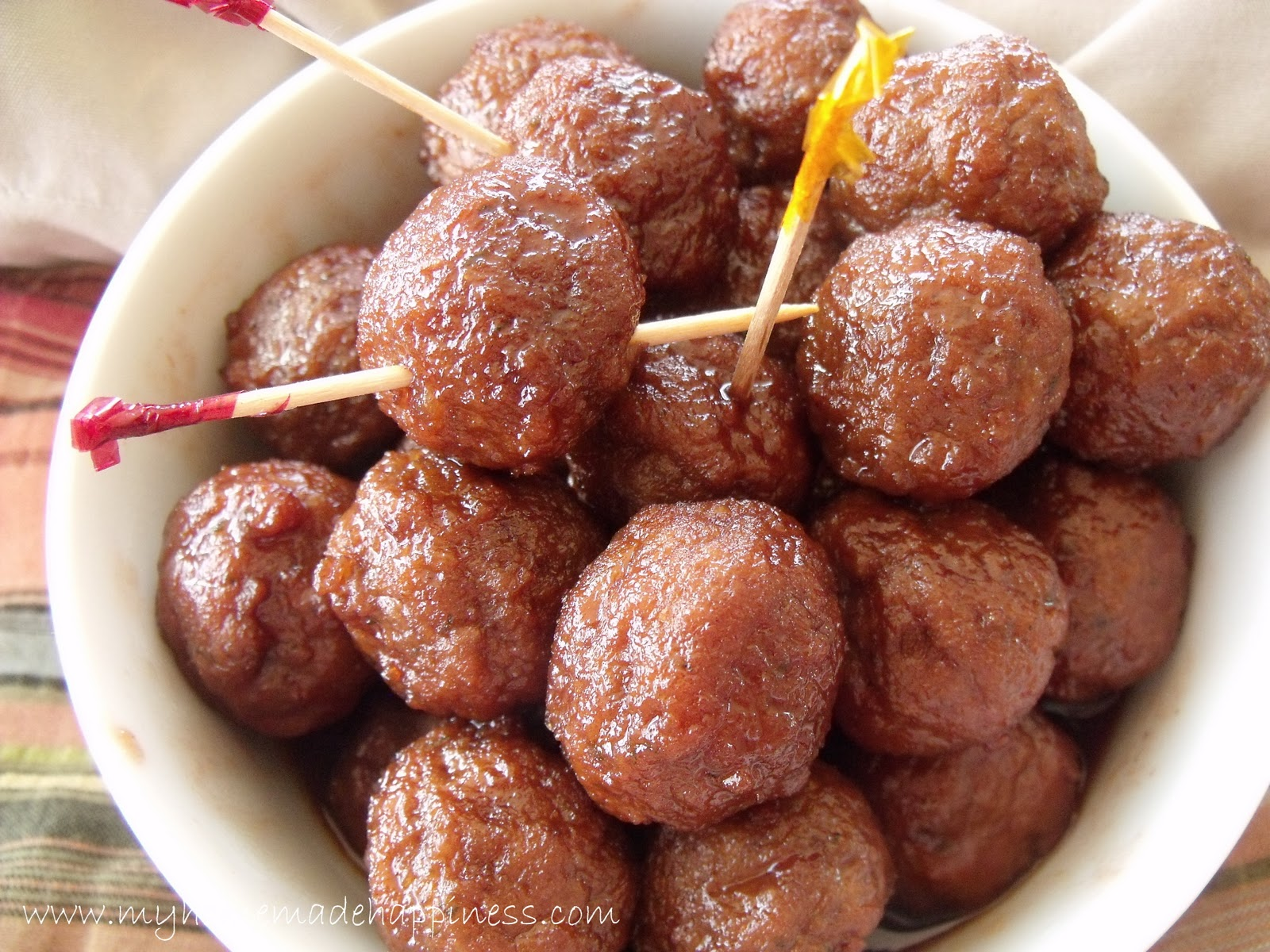 my homemade happiness recipe easy crock pot sweet and sour meatballs. Black Bedroom Furniture Sets. Home Design Ideas