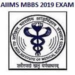 AIIMS MBBS Entrance Admit Card 2019