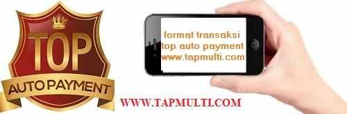 format transaksi server tap