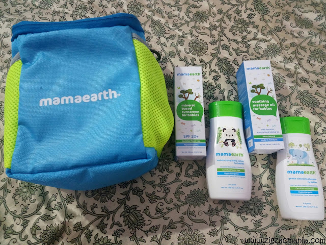 Mama Earth Baby Products Review