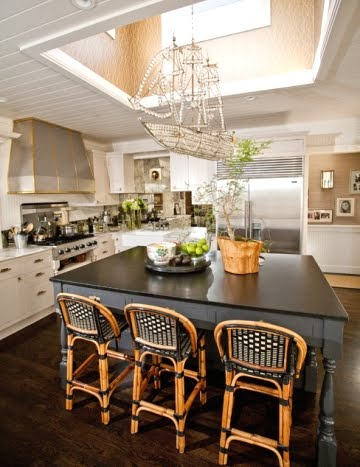 A Crystal Ship Chandelier Adds Glamor To Any Room Coastal Decor - Crystal chandelier in kitchen