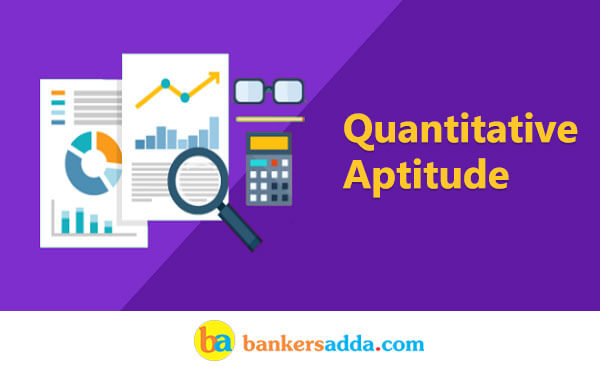 Quantitative Aptitude for IBPS Clerk Mains 2017