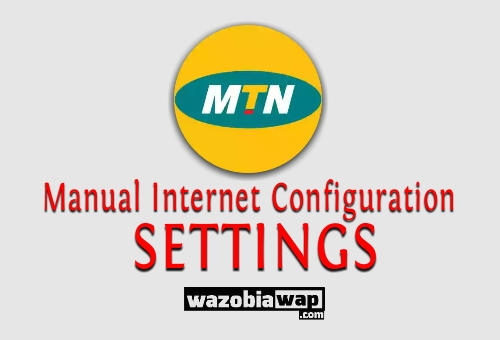 Internet Manual settings For mtn