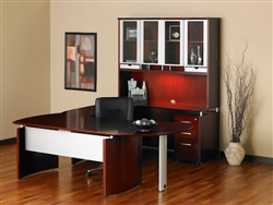 Napoli Modular Executive Desk by Mayline